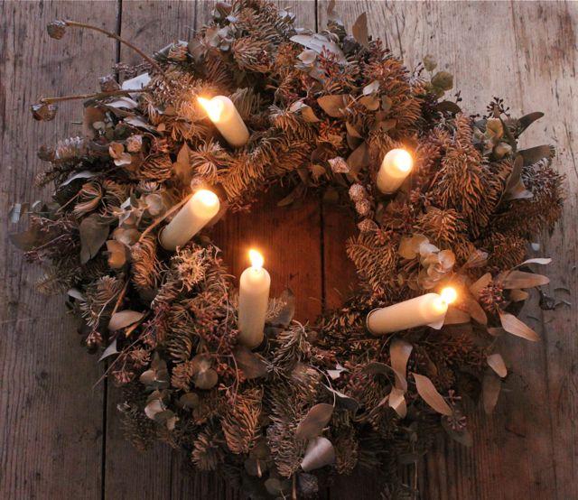 xmas wreath, sweden