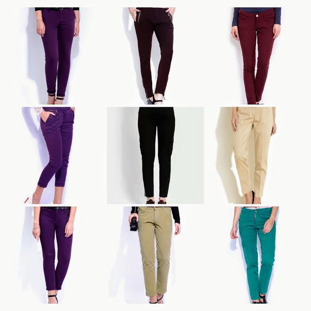 Ladies cotton pant image