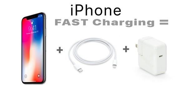 iphone fast charge