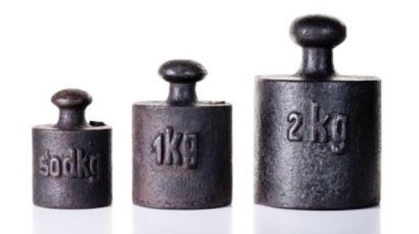 A partir de 2019, el kilogramo dejará de ser de un kilo