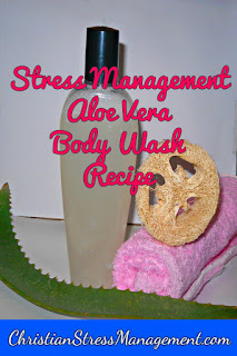 Aloe vera body wash recipe