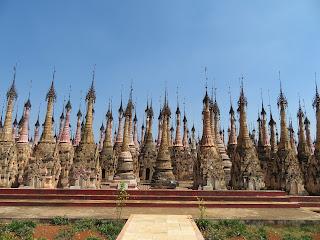 ミャンマーのカックー遺跡