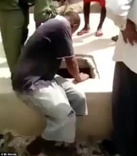 بالفيديو والصور.. شاب يحبس حبيبته عارية في قبر لمدة 8 أشهر