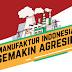 Semakin Agresif, Indeks Manufaktur Indonesia Tertinggi dalam 20 Bulan