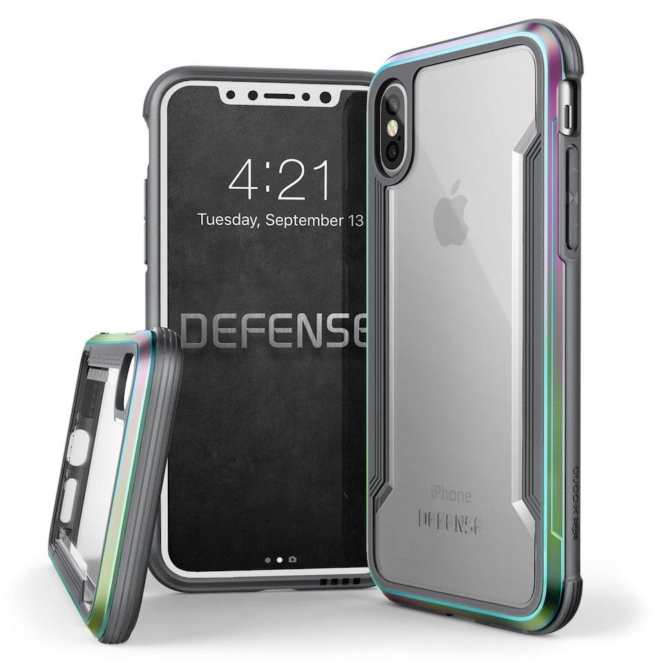 Custodia iPhone X, X-Doria Defence Shield
