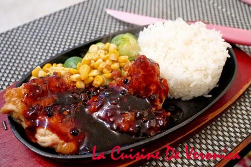 La Cuisine De Veronica V女廚房: 港式鐵板黑椒雞扒