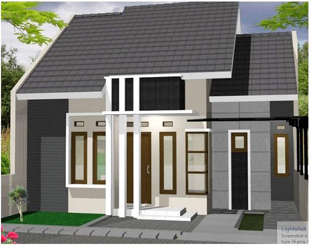 Desain Teras Untuk Rumah Minimalis Type 36 Sederhana Belonomi