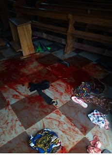 More Than 10 Worshippers Dead As Un Identified Gun Men Invade Catholic Church In Anambra 16
