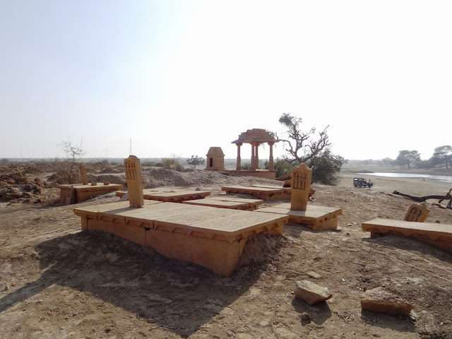 Temple Near - Jassie Oasis - Jaisalmer, Rajasthan - Pick, Pack, Go