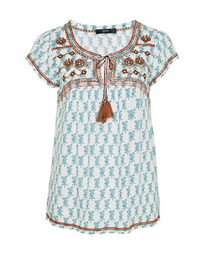 Hallhuber boho blouse with embroidery detail, GBP 39 from House of Fraser