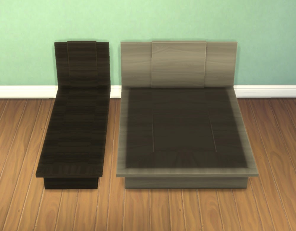 My Sims 4 Blog Emi Uto Bed Frames By Plasticbox