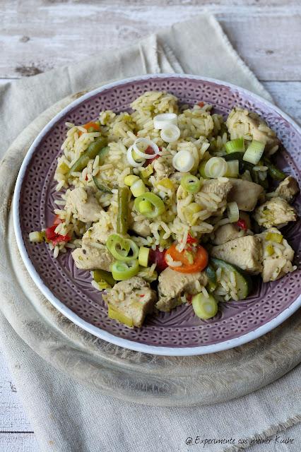 Experimente aus meiner Küche: Italienische Reispfanne