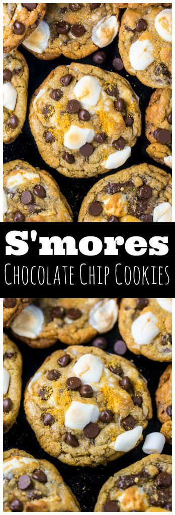 S'mores Chocolate Chíp Cookíes