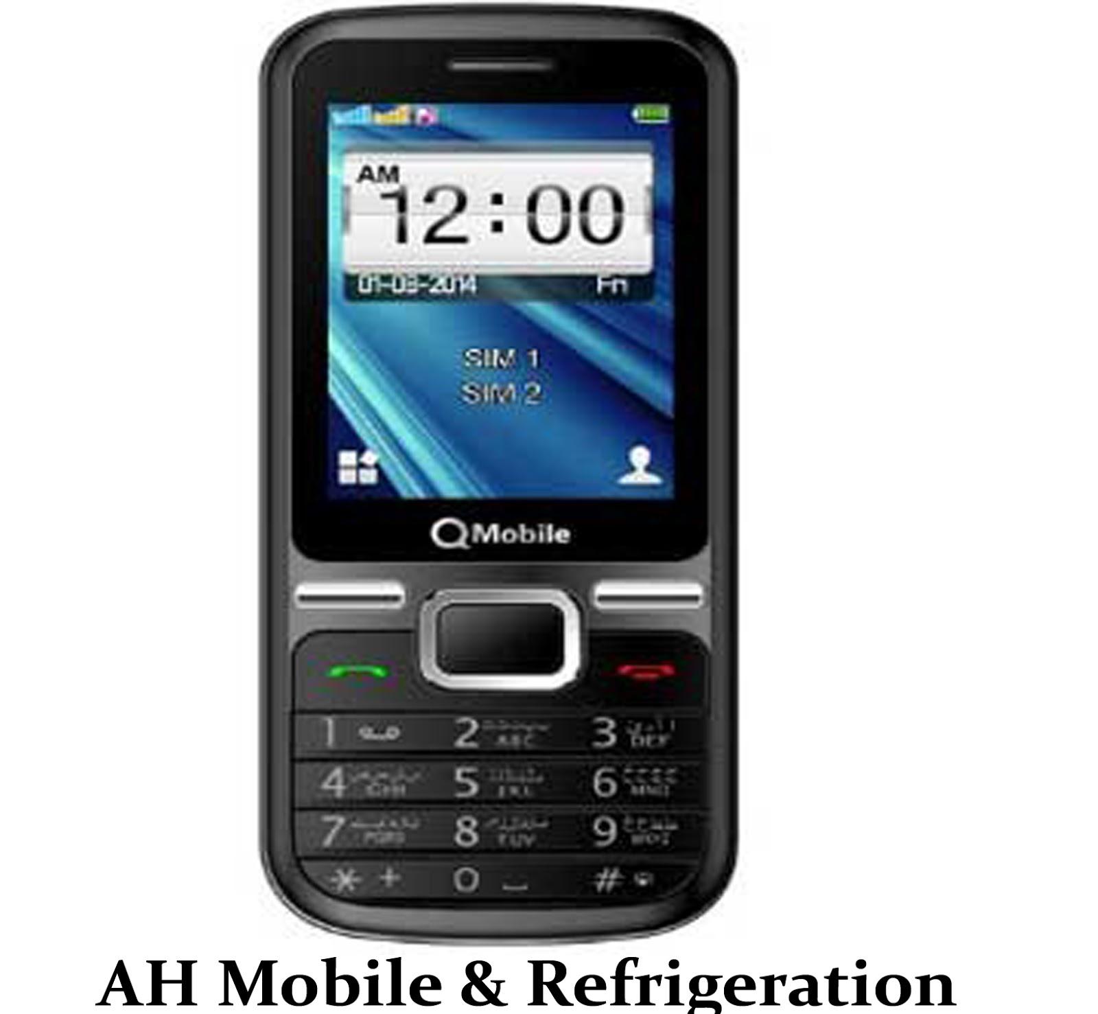 QMobile R220 MTK6261DA Flash File 100% ok File - AH Mobile