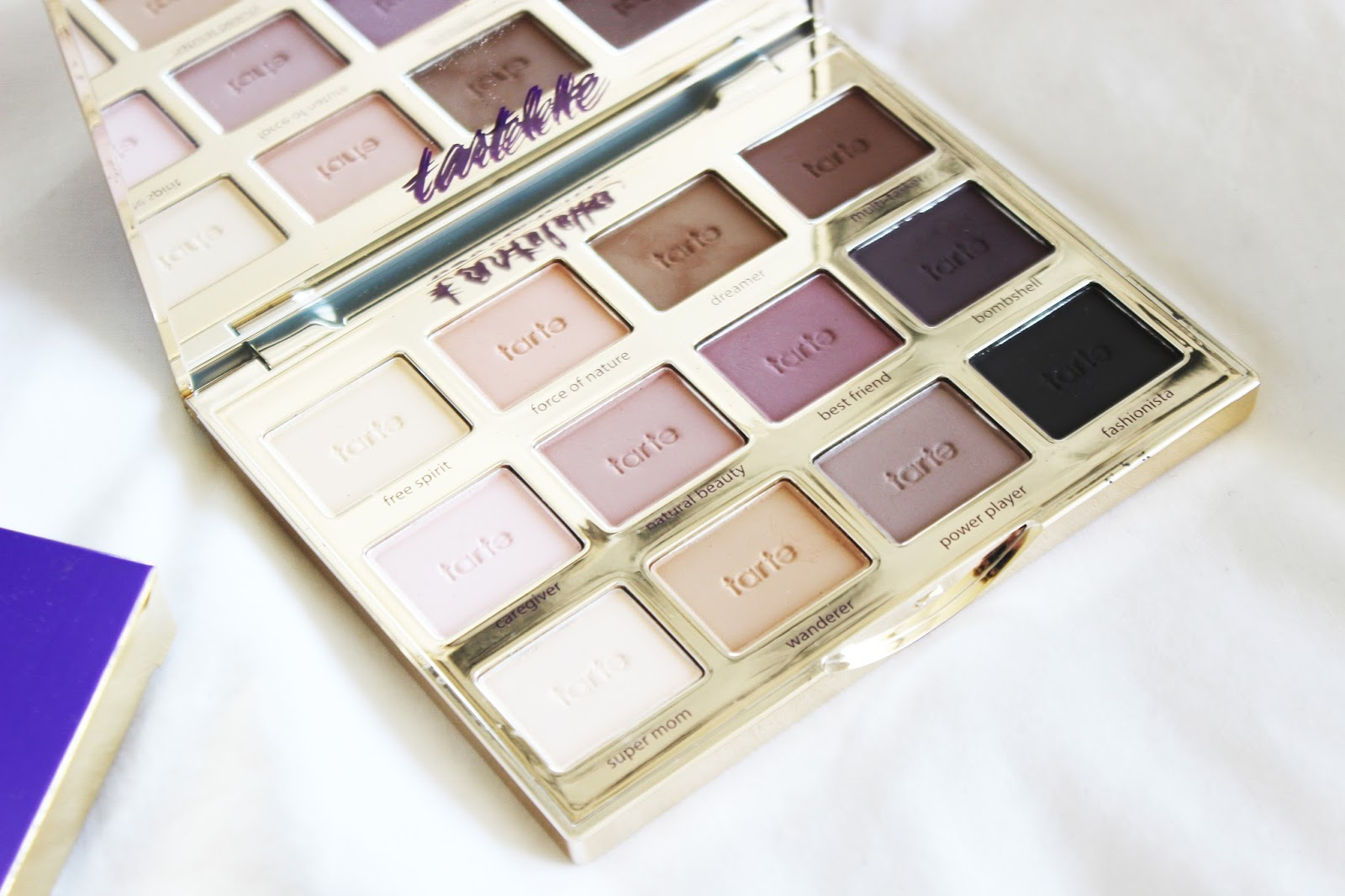 All Matte Eyeshadow Palette Tarte Tartelette Review