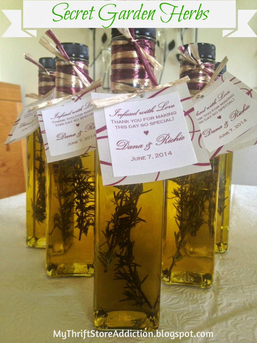 Organic rosemary infused oil