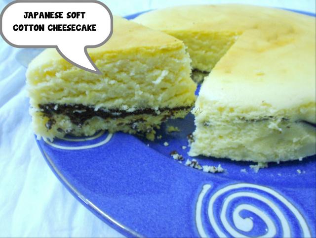 Chocolate Layered Japanese Soft Cotton Cheesecake -BP Challenge