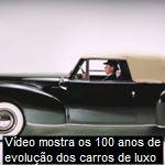 Vídeo mostra os 100 anos de evolução dos carros de luxo 699 cliquesPor que o Poderoso Chefão é considerado um clássico do cinema? Por que o Poderoso Chefão é considerado um clássico do cinema?