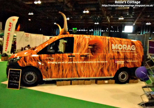 Morag the heilan coo van