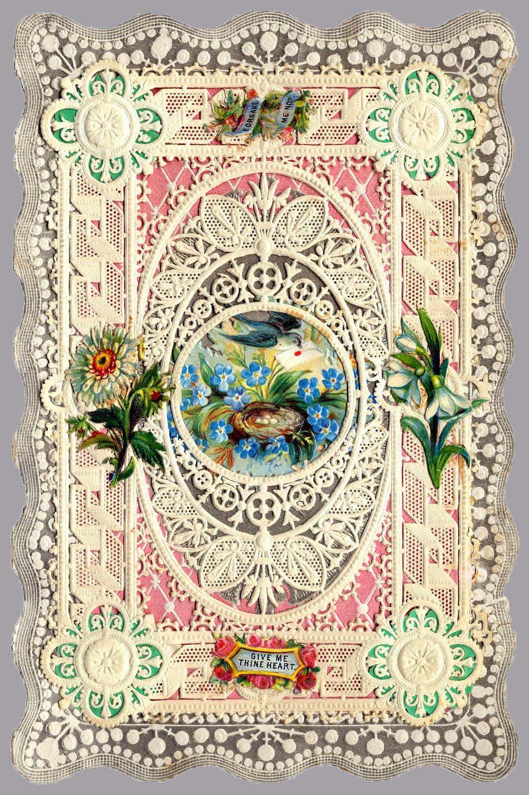 Sincere Girl Wallpaper Art Amp Artists Vintage Valentine S Cards