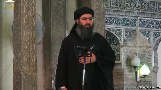 Al-Baghdadi n'est pas finalement pas mort.