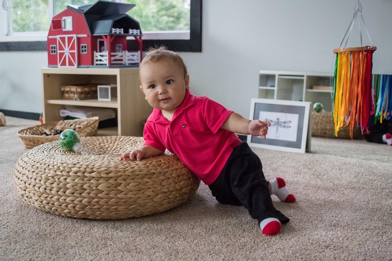 Starting To Pull Up Montessori Baby Week 38