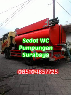 Sedot WC Jalan Pumpungan Surabaya