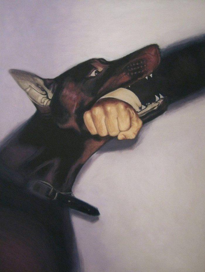Современный сирийский художник. Nazmi Afshari