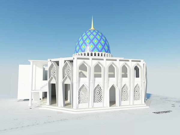 Kumpulan Desain Masjid dan Kubah Masjid Terbaik