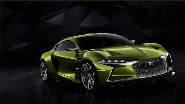 2016 Citroen DS E-Tense Concept Car - #Citroen #ConceptCar #cars