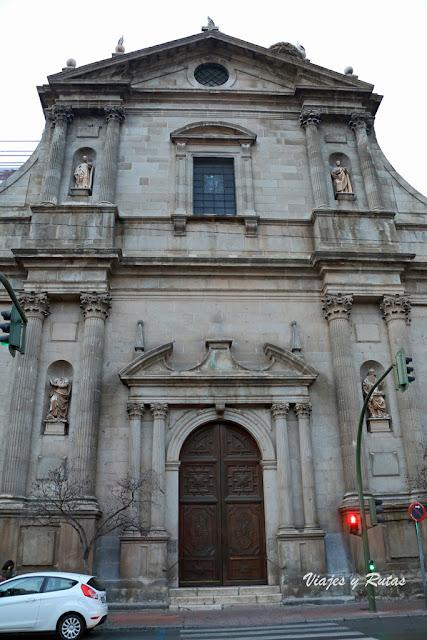Iglesia de Santa María la Mayor del Colegio Máximo de los Jesuitas