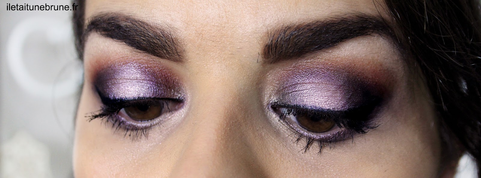 smoky mauve et gris, monday shadow challenge