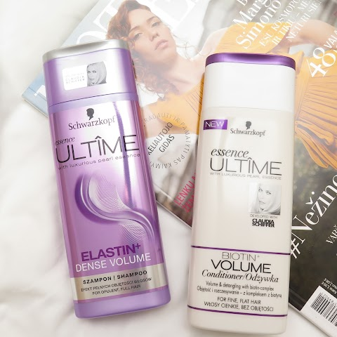 Schwarzkopf Essence Ultime šampūnas ir kondicionierius plaukams, apimčiai