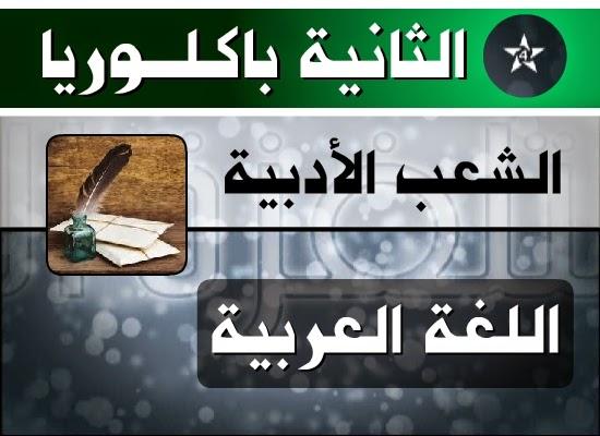 منهجية تحليل نصوص اللغة العربية 2 باك اداب وعلوم إنسانية