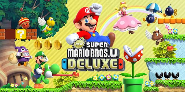 New Super Mario Bros. U Deluxe menjadi yang terlaris di pasar game Jepang.