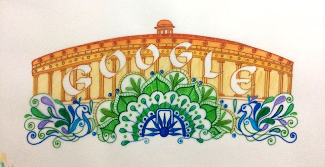 Google Doodle Celebrates Tricolor Indian Independence Day 2017