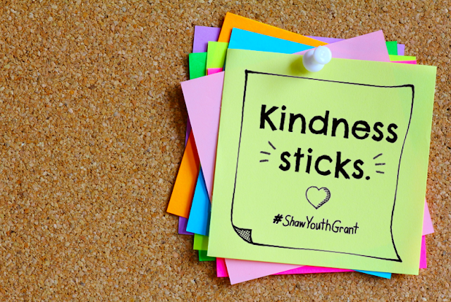 Help Make Kindness Stick in Your School #ShawYouthGrant