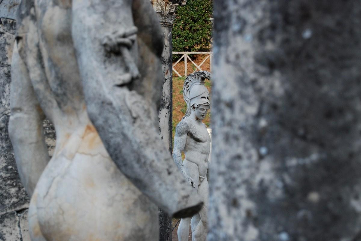 statue Arès Villa Hadriana