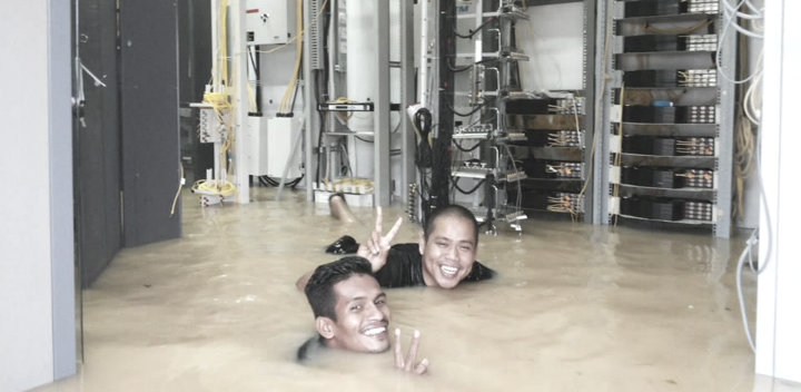 datancente-inundado-desastre