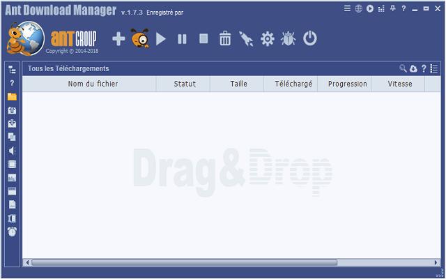تحميل وتفعيل برنامج التحميل Ant Download Manager 1.7.3 البديل لأنترنت دونالد منجر