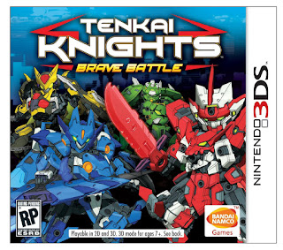 Tenkai Knights: Brave Battle USA 3DS GAME [.CIA]