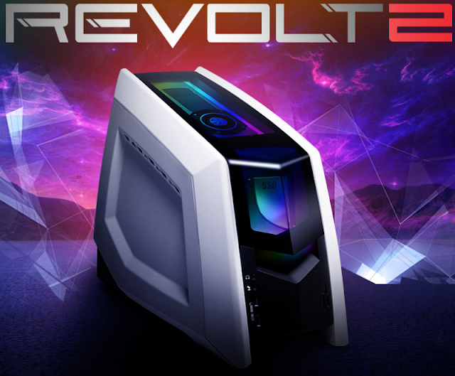 Revolt 2 intelligently utilizes its space to hold all the power you need to game with confidence.