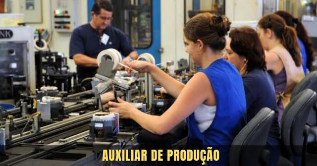auxiliar de produção - campo largo