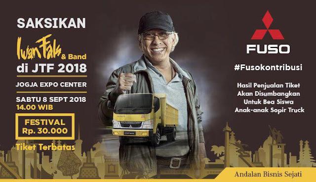 Konser Iwan Fals Jogjakarta Truck Festival (JTF) 2018