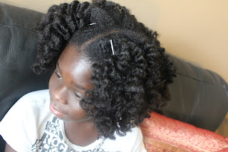Big Sis Styles Bantu Knot Out on Natural Hair | First Time | Kids Natural Hair DiscoveringNatural