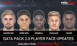 Facepack DLC 2.0 PES 2017