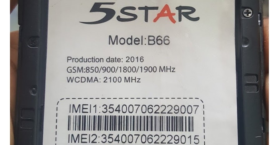 bk mobile zone: 5 Star B66 Flash File MT6572