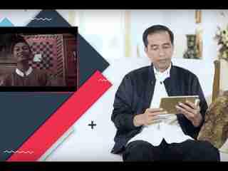 Pak Jokowi Ditanya Tentang Naruto?