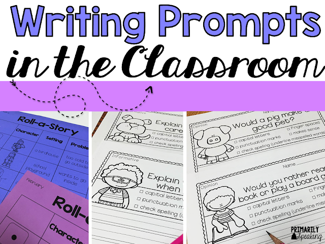 Using Writing Prompts