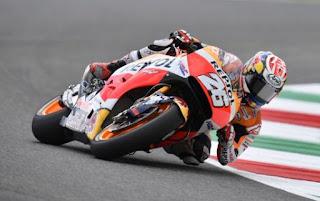 MotoGP Catalunya: Pedrosa Pole Position, Rossi Posisi ke-13